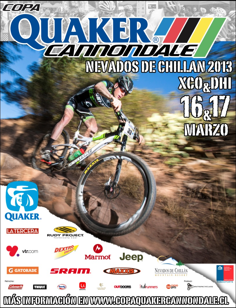Copa Quaker Cannondale Nevados de Chillán 2013