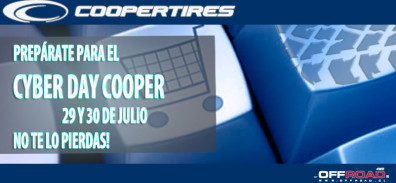 Cyber day Neumaticos Cooper
