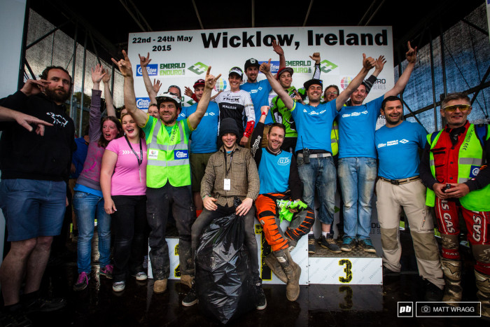 Resultados Enduro World Series Round #2 - Wicklow, Irlanda + Audio de Pedro Burns