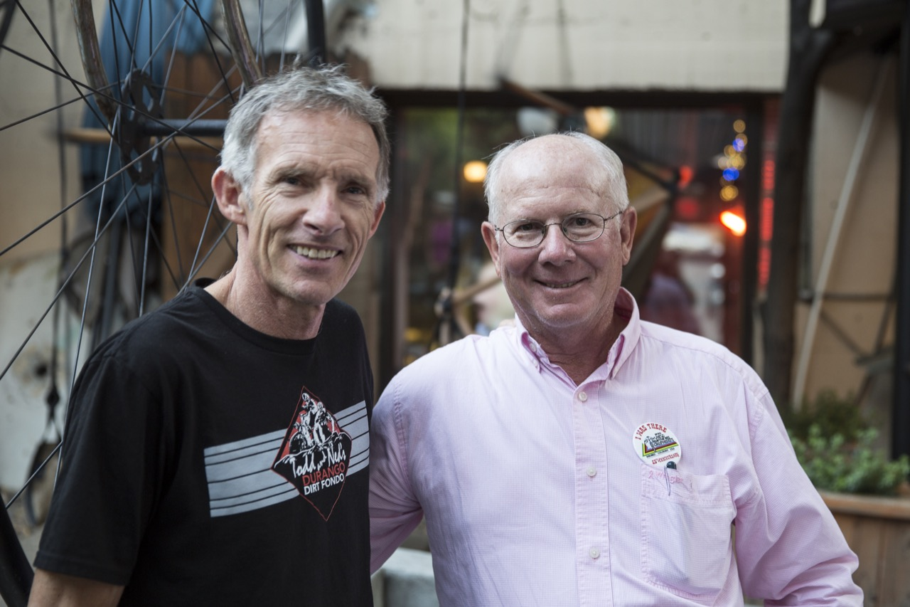 Ned Overend y Ed Zinc