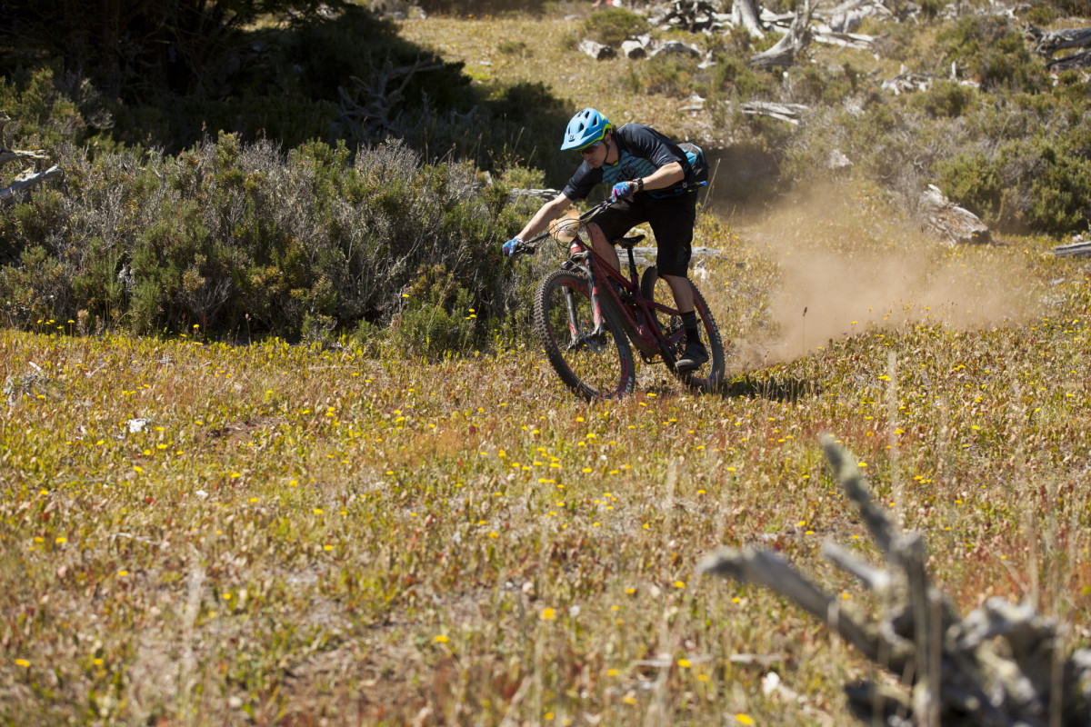 COYHAIQUE, PATAGONIA, CHILE - 21 January during the third day of the inaugural Aysen Rally Patagonia for Santa Cruz Bicycles launch of the Hightower. Photo by Gary Perkin