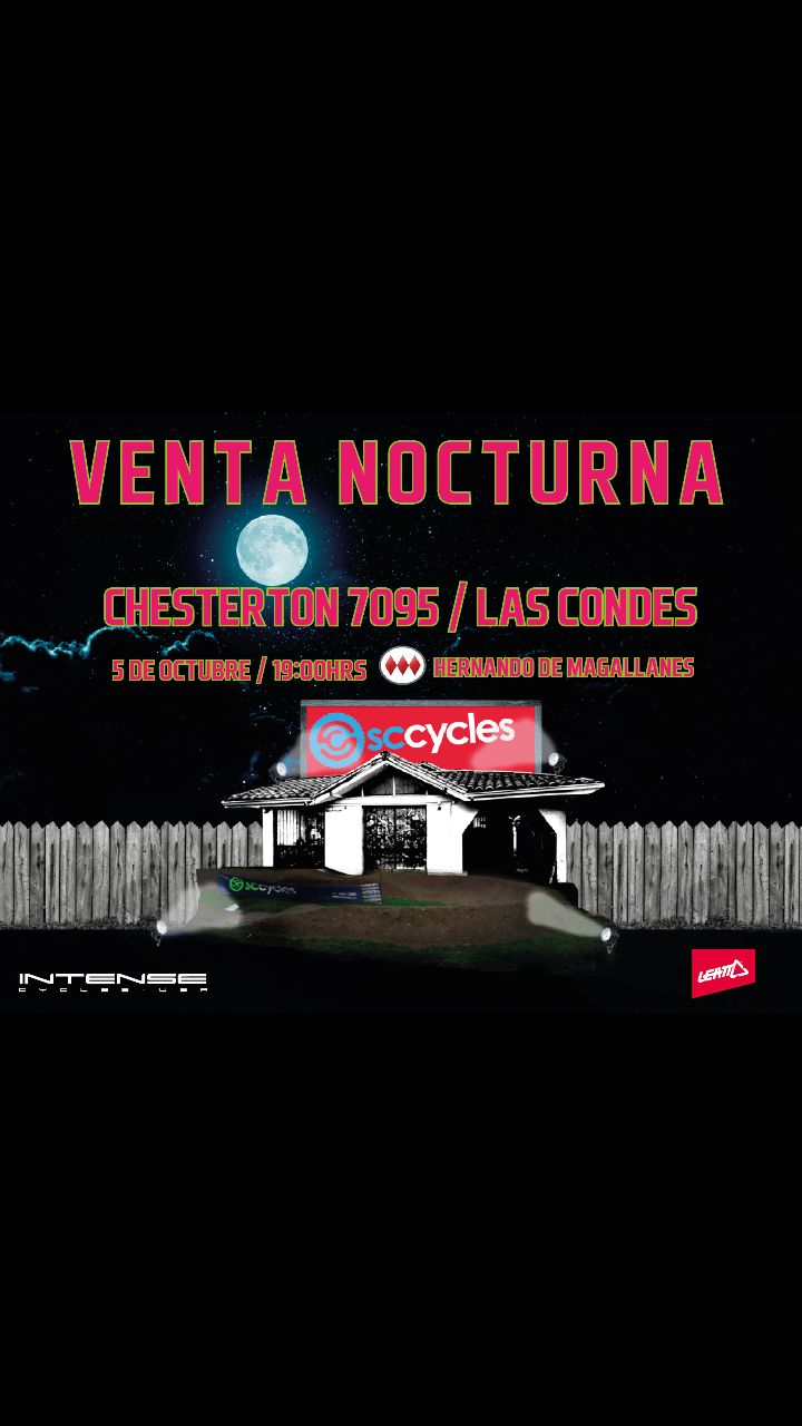 Venta Nocturna SCCycles